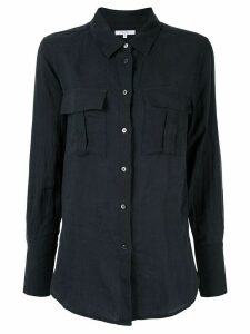 Venroy chest pocket shirt - Blue