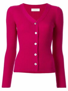 Tomorrowland ribbed knit cardigan - Red