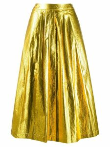 Essentiel Antwerp Vayacon pleated skirt - Yellow