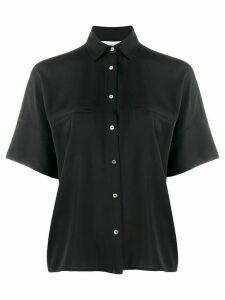 Vince short sleeve jetted pocket shirt - Black