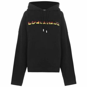 DSquared2 Fire Logo Hooded Sweatshirt