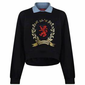 Hilfiger Collection Collar Sweatshirt