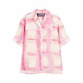 Jacquemus La Chemise Vallena Printed Shirt