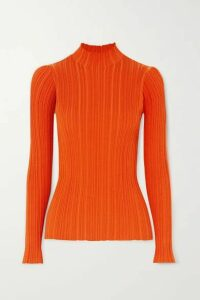 Acne Studios - Ribbed Cotton-blend Sweater - Orange