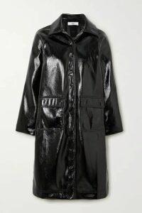 Frankie Shop - Camille Textured-vinyl Coat - Black