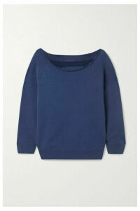 Nili Lotan - Luka Cotton-jersey Sweatshirt - Blue