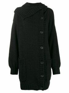 Nº21 chunky long cardigan - Black
