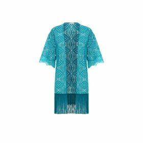 Paolita Cape Teal Kimono