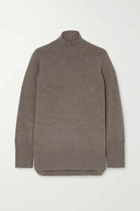 Cefinn - Jemima Mélange Wool-blend Sweater - Gray