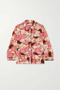 Marni - Printed Crepe Blouse - Pink