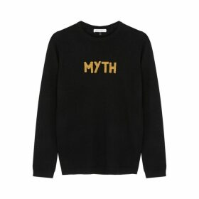 Bella Freud Myth Black Wool Jumper