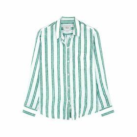 Rails Charli Striped Linen-blend Shirt
