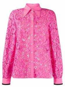 Nº21 floral lace shirt - PINK