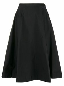 Nº21 high-waisted flared skirt - Black