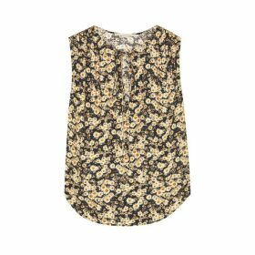 Stella McCartney Ruby Floral-print Silk Top