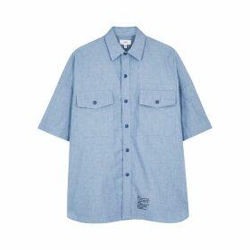 HYKE Blue Chambray Shirt