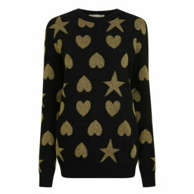 Gucci Heart And Stars Knit Jumper