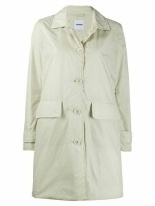 Aspesi Albanella button-down technical jacket - NEUTRALS