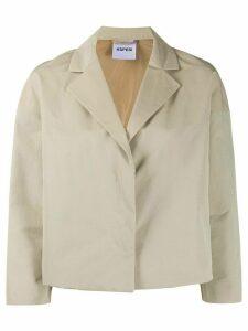Aspesi Trenetta box-cut blazer - NEUTRALS