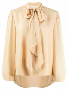 Chloé pussy bow blouse - NEUTRALS