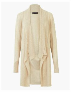 M&S Collection Waterfall Longline Cardigan