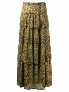 Ba & Sh printed skirt - Brown
