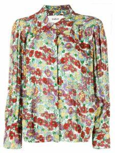Ba & Sh Phara pointed collar floral shirt - Red