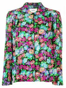 Ba & Sh floral print blouse - Black