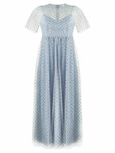 RedValentino tulle mid-length dress - Blue