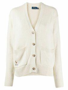 Polo Ralph Lauren v-neck buttoned cardigan - NEUTRALS