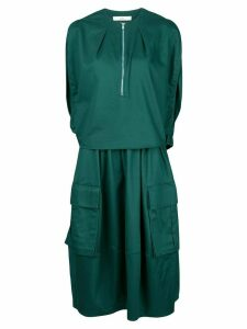 Tibi Harrison balloon dress - Green