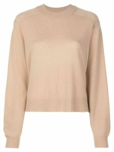 Tibi Spring cocoon jumper - Brown