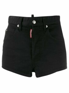 Dsquared2 short denim shorts - Black