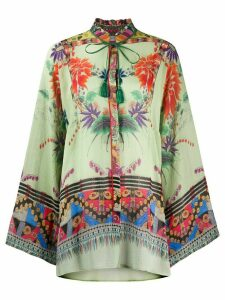 Etro floral print blouse - Green