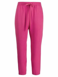 RedValentino cropped trousers - PINK