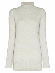 Ply-Knits oversized turtleneck sweater - Grey