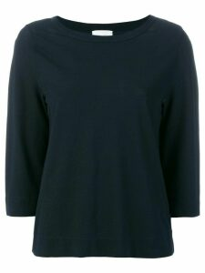 Zanone boat neck sweater - Blue