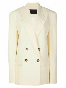 Proenza Schouler oversized double breasted blazer - Yellow