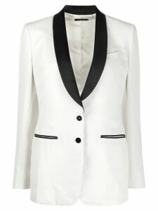 Tom Ford satin-lapel tuxedo jacket - NEUTRALS
