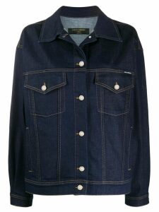 Dolce & Gabbana Underwear oversized denim jacket - Blue