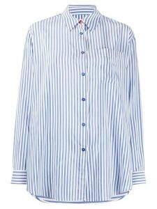 PS Paul Smith striped poplin shirt - Blue