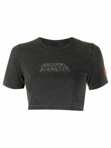 Heron Preston Natural Disaster cropped T-shirt - Black