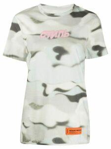 Heron Preston Style tie-dye T-shirt - Grey