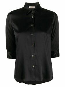 Blanca Vita Camilla silk shirt - Black