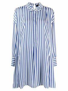 Steffen Schraut long striped shirt - Blue