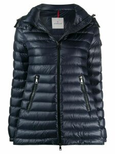 Moncler quilted feather-down jacket - Blue