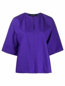 Sofie D'hoore poplin shirt - PURPLE