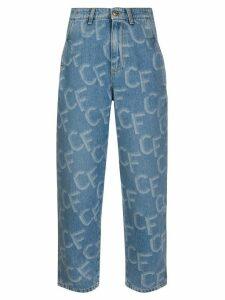 Chiara Ferragni slouchy fit jeans - Blue