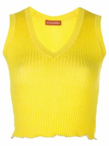 Altuzarra Parrish knitted top - Yellow
