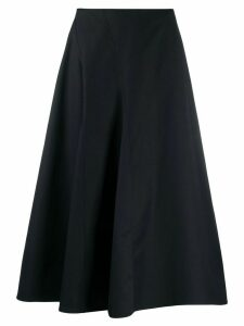 Deveaux flared midi skirt - Black